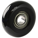 Overmolded Wheel, Black