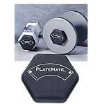 Platemate Magnetic Hex-Shape Add-On Weight Plate, 1.25 Lbs.