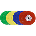 Competition Bumper Plate Set, 320lbs/145.34kgs, Multi-Color