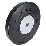 Competition Bumper Plate, 45lb/20.43kg, Black