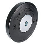 Competition Bumper Plate, 55lb, Black