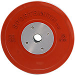 Competition Bumper Plate, 55lb/25kg, Red