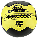 Sportsmith Soft Medicine Ball, 12lb, Yellow and Black