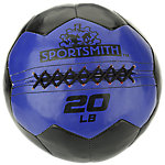 Sportsmith Soft Medicine Ball, 20lb, Blue and Black