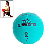 Medicine Ball, 2Kg / 4.4 Lbs., Green