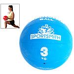 Medicine Ball, 3Kg / 6.6 Lbs., Blue