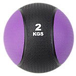 Classic Bi-Color Medicine Ball | 4.4 Lbs / 2 Kg | Purple & Black