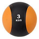 Classic Bi-Color Medicine Ball | 6.6 Lbs / 3 Kg | Orange & Black