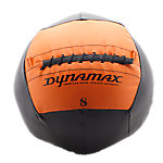 DynaMax Soft Medicine Ball, 8 Lb, Black W/Orange Label