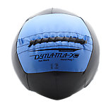 DynaMax Soft Medicine Ball, 12 Lb, Black W/Sky Label