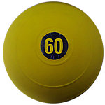 "D-Ball | 60lb | Yellow | No Bounce | 12"" Diameter"