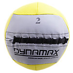 DynaMax Soft Mini Medicine Ball, 2Lb, Yellow w/Gray Label