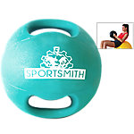 Dual-Grip Medicine Ball, 12 Lbs., Green