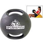 Dual-Grip Medicine Ball, 6 Lbs., Black