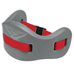 Jog Belt for Aquatic Fitness, Charcoal/Red, Size Large/X-Large