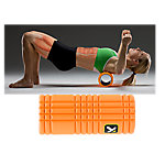 """The Grid Foam Roller, 5"""" x 13"""", Orange"""