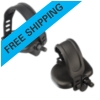 Bike Pedals, Set with Straps, 9/16""