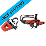 Bike Pedals, Trio QR Set, Threaded Version, 9/16""
