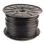 "Cable 500FT Reel, 3/16"" Diameter with Black Nylon Coating"