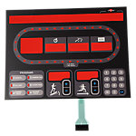 Overlay and Keypad Only, StarTrac E-TR Generation 1 Treadmills