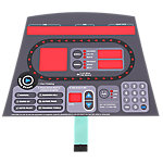 Overlay and Keypad, StarTrac ProBike 6300/6400