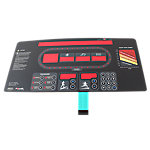 Overlay Keypad for LED Display, StarTrac