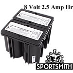 Battery, 4 Cell / 8 Volt