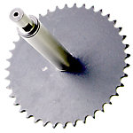 Clutch Shaft with Sprocket Assembly, 40 Tooth, Tectrix Climbmax