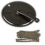 "1/8"" Chain and ISIS Right Crank Arm Kit"