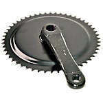 "Right Crank Arm with Sprocket, ISIS, 3/32"" x 52 Tooth, Schwinn"