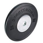 Competition Bumper Plate, 25lb/11.35kg, Black