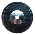 Competition Bumper Plate, 35lb/15.89kg, Black