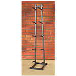 Vertical Medicine Ball Rack, Carbon Silver