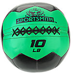 Sportsmith Soft Medicine Ball, 10lb, Green and Black