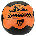 Sportsmith Soft Medicine Ball, 16lb, Orange and Black