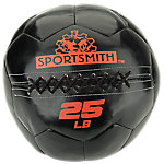 Sportsmith Soft Medicine Ball, 25lb, Black and Red
