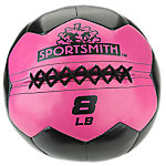 Sportsmith Soft Medicine Ball, 8lb, Fuschia Purple and Black