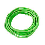 Level 3 Resistance Tubing, Latex Free, 25 Foot Roll, Green
