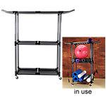 Multi-Purpose Storage Cart with Wheels | Gray