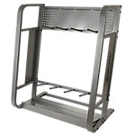 Deluxe Storage Rack for Toning Bars, Holds Up to 96 Bars
