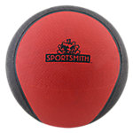 Bi-Color Classic Medicine Ball | 2 lb | Rubber | Red and Black