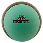 Bi-Color Classic Medicine Ball | 12 lb | Rubber | Green and Black