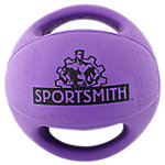 Double Grip Medicine Ball | 6 lb | Purple