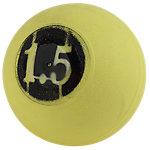"D-Ball, 1.5lb, Yellow, No Bounce, 3.75"" Diameter"