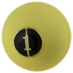 "D-Ball, 1lb, Yellow, No Bounce, 5"" Diameter"