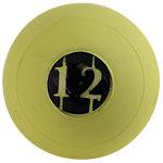 "D-Ball, 12lb, Yellow, No Bounce, 5"" Diameter"