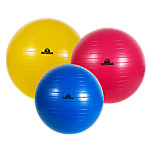 Stability Ball Set, Anti-Burst, One Each Of 55, 65 and 75cm Sizes