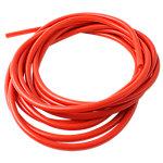Medium-Resistance Bulk Tubing, 8.5-10Lbs, 25 Ft. Roll, Red