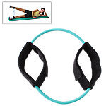 Ankle Cuff Resistance Tube, Light Resistance 6-7.5 Lbs, Green
