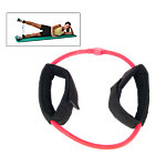 Ankle Cuff Resistance Tube, Medium Resistance 8.5 Lbs-10 Lbs, Red